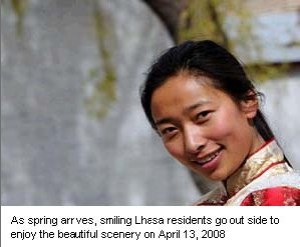 Happy in Tibet